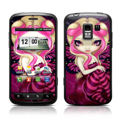 LG Enlighten Skin - Pink Lightning
