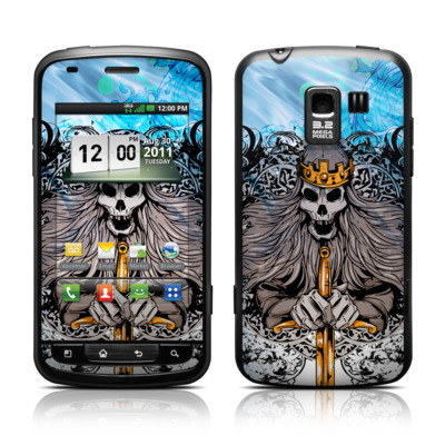 LG Enlighten Skin - Skeleton King