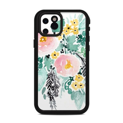 Lifeproof iPhone 11 Pro Fre Case Skin - Blushed Flowers