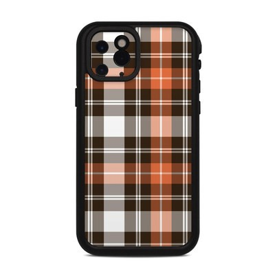 Lifeproof iPhone 11 Pro Fre Case Skin - Copper Plaid