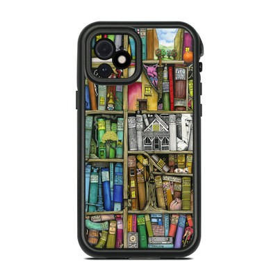 Lifeproof iPhone 12 Fre Case Skin - Bookshelf