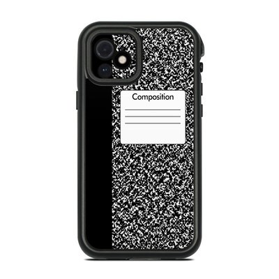 Lifeproof iPhone 12 Fre Case Skin - Composition Notebook