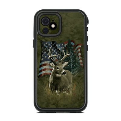 Lifeproof iPhone 12 Fre Case Skin - Deer Flag