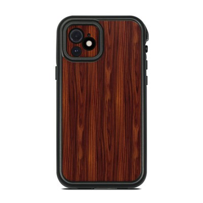 Lifeproof iPhone 12 Fre Case Skin - Dark Rosewood