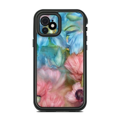 Lifeproof iPhone 12 Fre Case Skin - Poppy Garden