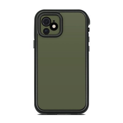 Lifeproof iPhone 12 Fre Case Skin - Solid State Olive Drab