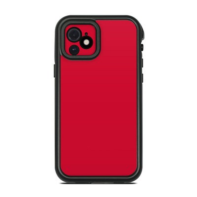 Lifeproof iPhone 12 Fre Case Skin - Solid State Red
