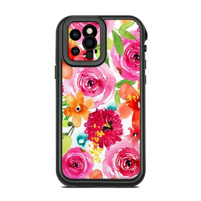 Lifeproof iPhone 12 Pro Fre Case Skin - Floral Pop