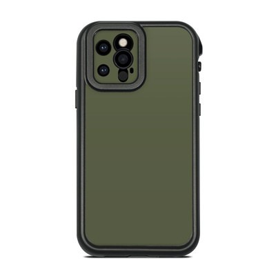 Lifeproof iPhone 12 Pro Fre Case Skin - Solid State Olive Drab