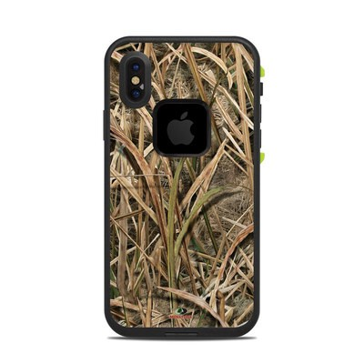 Lifeproof iPhone X Fre Case Skin - Shadow Grass Blades