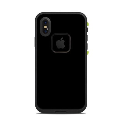 Lifeproof iPhone X Fre Case Skin - Solid State Black