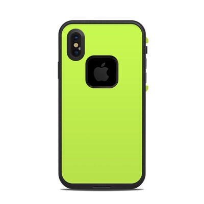 Lifeproof iPhone X Fre Case Skin - Solid State Lime