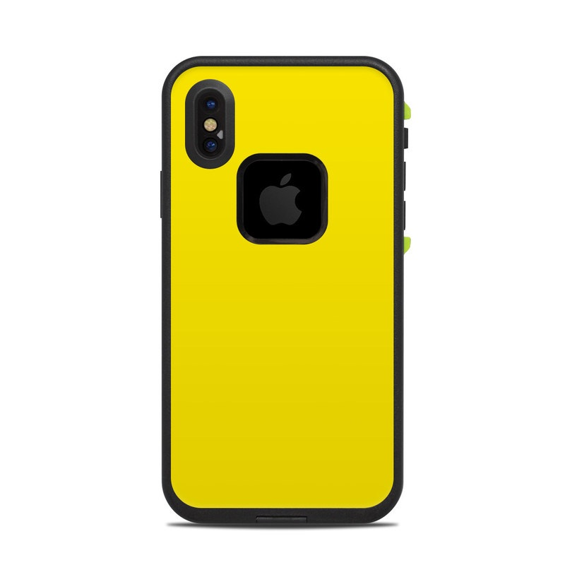 fe84706458 Lifeproof iPhone X Fre Case Skin - Solid State Yellow by Solid ...