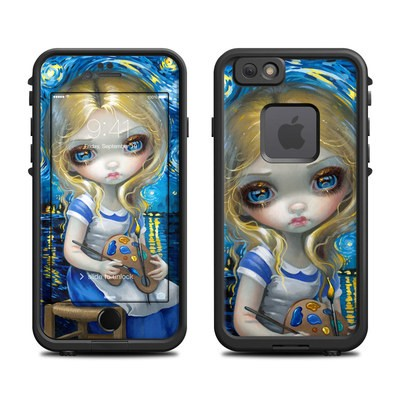 Lifeproof iPhone 6 Fre Case Skin - Alice in a Van Gogh