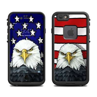 Lifeproof iPhone 6 Fre Case Skin - American Eagle