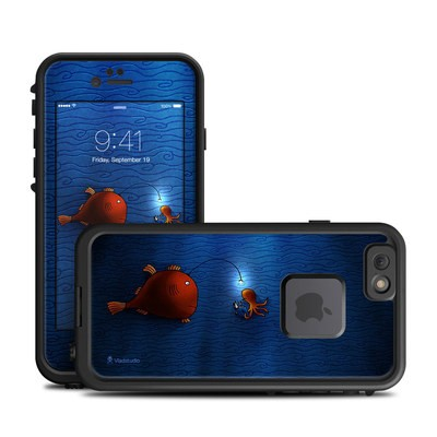 Lifeproof iPhone 6 Fre Case Skin - Angler Fish