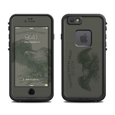 Lifeproof iPhone 6 Fre Case Skin - Army Crest