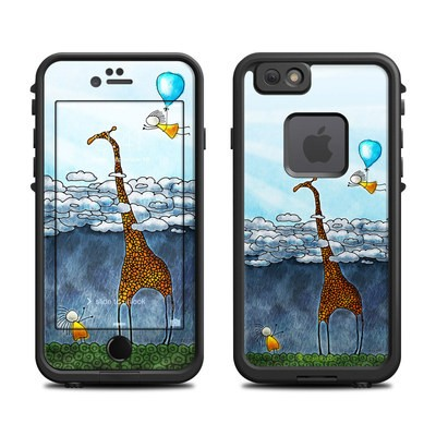 Lifeproof iPhone 6 Fre Case Skin - Above The Clouds