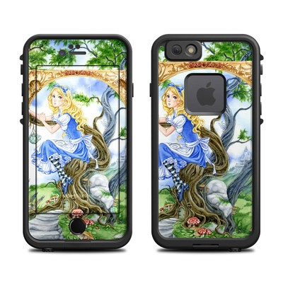 Lifeproof iPhone 6 Fre Case Skin - Alice's Tea Time