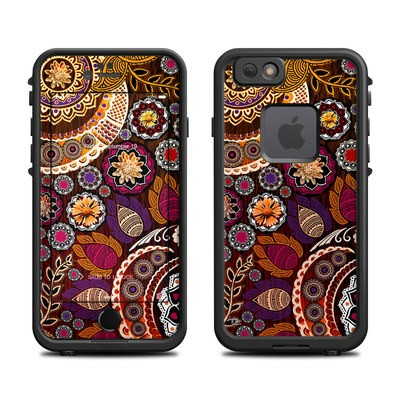Lifeproof iPhone 6 Fre Case Skin - Autumn Mehndi