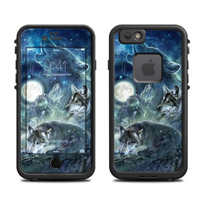 Lifeproof iPhone 6 Fre Case Skin - Bark At The Moon