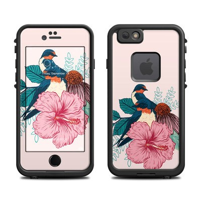 Lifeproof iPhone 6 Fre Case Skin - Barn Swallows