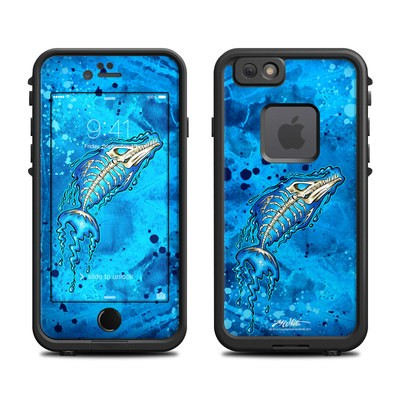 Lifeproof iPhone 6 Fre Case Skin - Barracuda Bones
