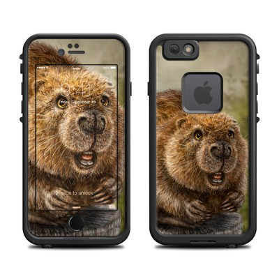 Lifeproof iPhone 6 Fre Case Skin - Beaver Totem