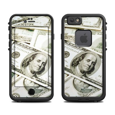 Lifeproof iPhone 6 Fre Case Skin - Benjamins