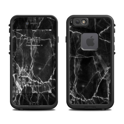 Lifeproof iPhone 6 Fre Case Skin - Black Marble