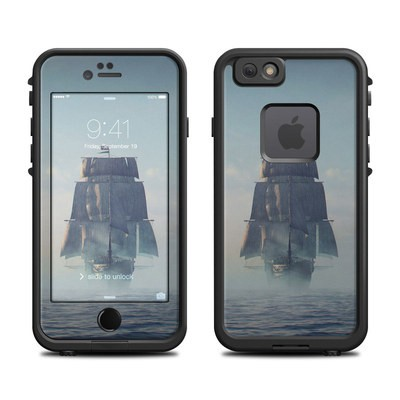 Lifeproof iPhone 6 Fre Case Skin - Black Sails