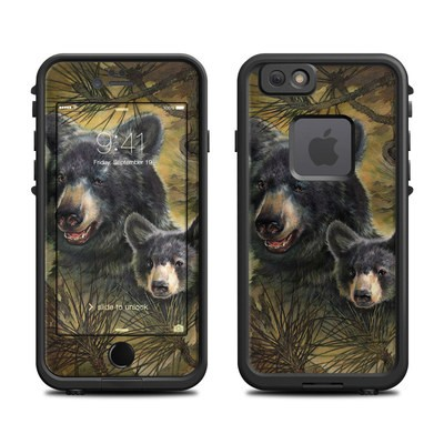 Lifeproof iPhone 6 Fre Case Skin - Black Bears