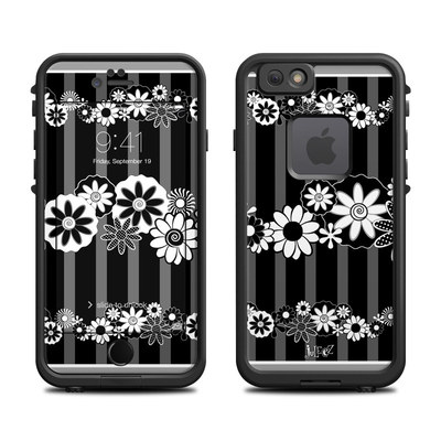 Lifeproof iPhone 6 Fre Case Skin - Black Retro