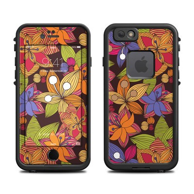 Lifeproof iPhone 6 Fre Case Skin - Blooming
