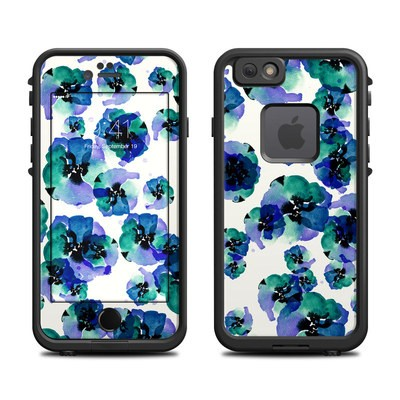 Lifeproof iPhone 6 Fre Case Skin - Blue Eye Flowers