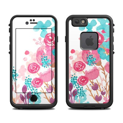Lifeproof iPhone 6 Fre Case Skin - Blush Blossoms