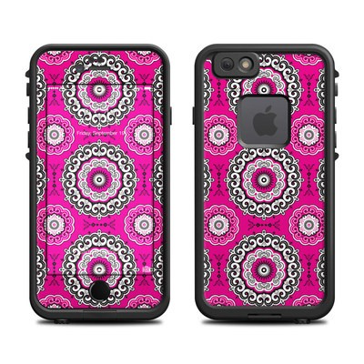 Lifeproof iPhone 6 Fre Case Skin - Boho Girl Medallions