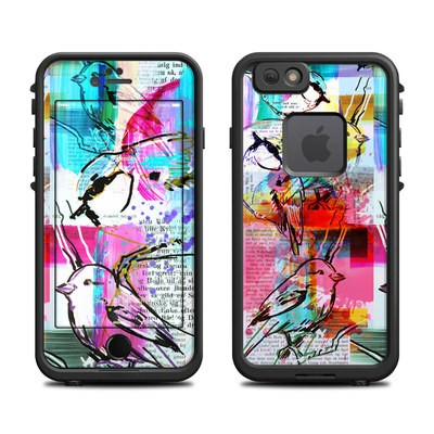 Lifeproof iPhone 6 Fre Case Skin - Book Birds