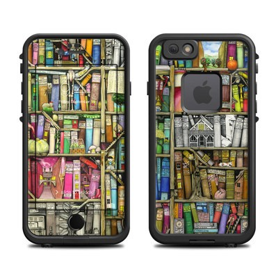 Lifeproof iPhone 6 Fre Case Skin - Bookshelf