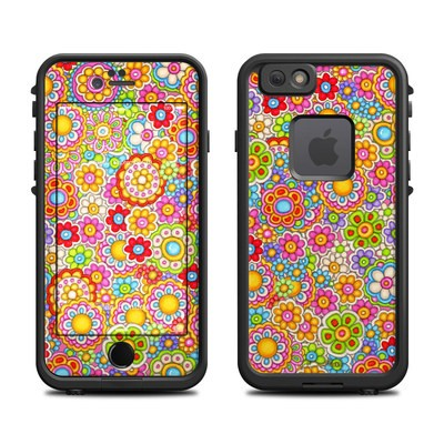 Lifeproof iPhone 6 Fre Case Skin - Bright Ditzy