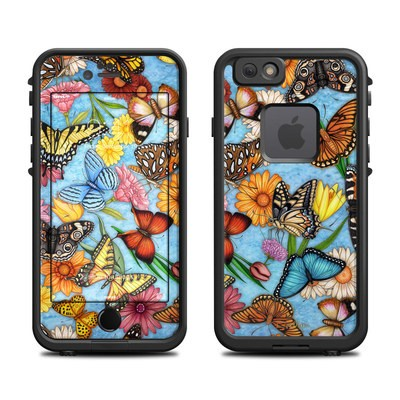Lifeproof iPhone 6 Fre Case Skin - Butterfly Land