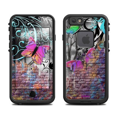 Lifeproof iPhone 6 Fre Case Skin - Butterfly Wall