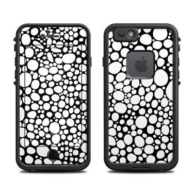 Lifeproof iPhone 6 Fre Case Skin - BW Bubbles