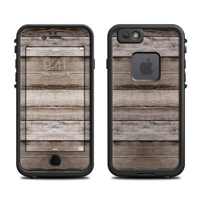 Lifeproof iPhone 6 Fre Case Skin - Barn Wood
