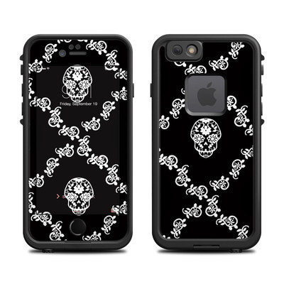 Lifeproof iPhone 6 Fre Case Skin - Calavera Lattice