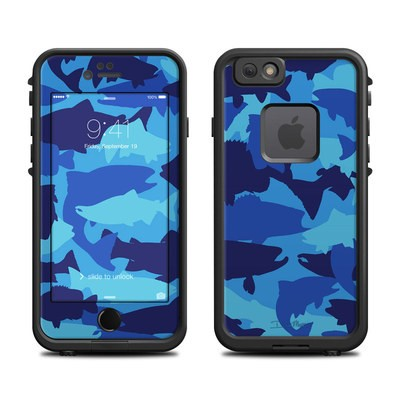 Lifeproof iPhone 6 Fre Case Skin - Camo Fish