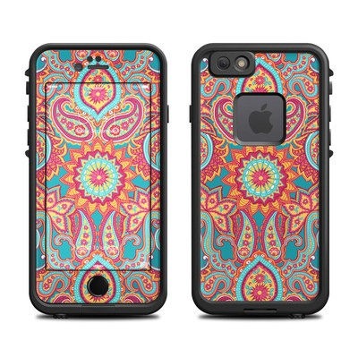 Lifeproof iPhone 6 Fre Case Skin - Carnival Paisley