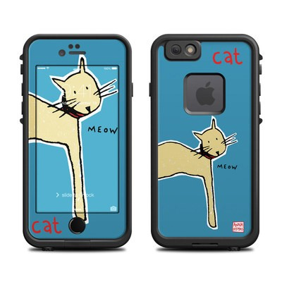 Lifeproof iPhone 6 Fre Case Skin - Cat