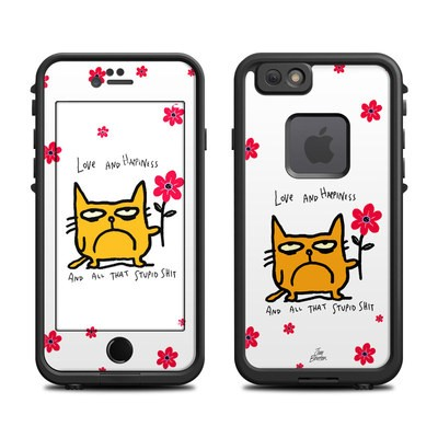 Lifeproof iPhone 6 Fre Case Skin - Catwad Happy