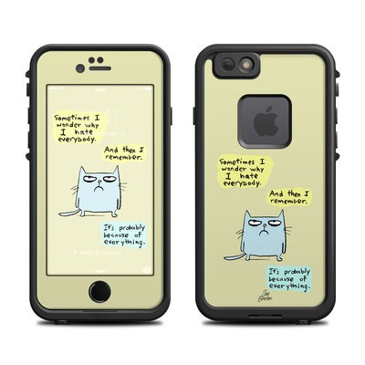 Lifeproof iPhone 6 Fre Case Skin - Catwad Hate